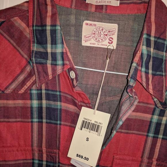 c29e0cb709 Lucky Brand Classic Fit Santa Fe Western Shirt